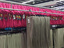 The Garments Can Be Removed From Trolleys And Stored On Adjustable Racking Until Required To Picked Up For Dispatch